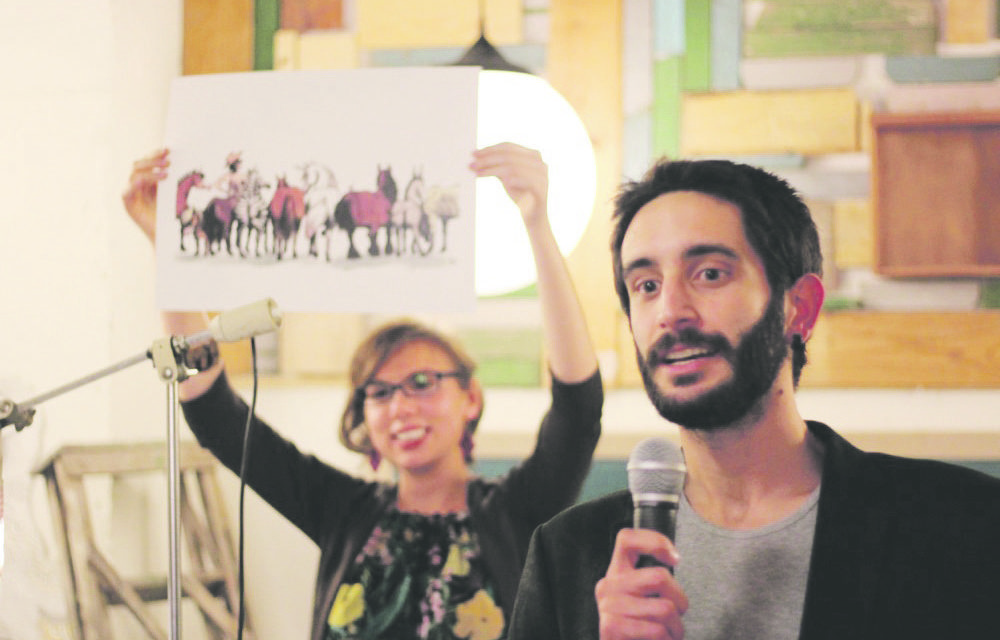 Charity art auction raises funds for rescued horses