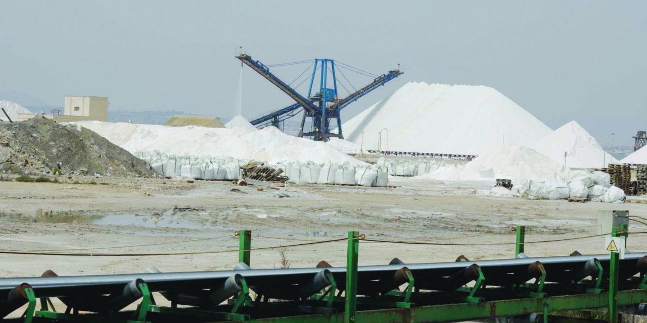 Salt production in jeopardy