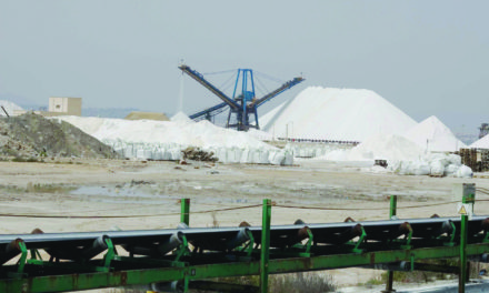 Salt production in jeopardy