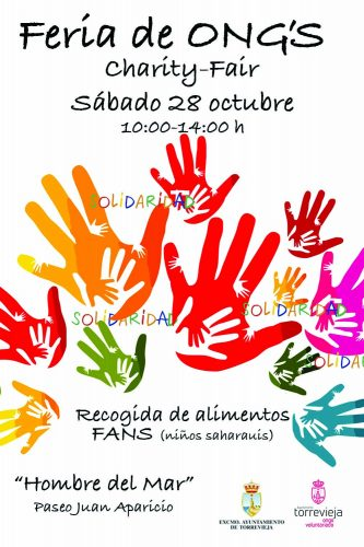 Charity fair in Torrevieja