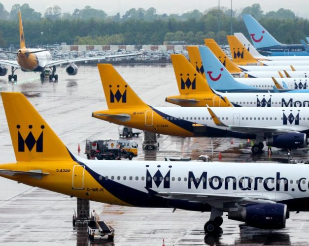 All Monarch airlines flights cancelled as airline ceases trading