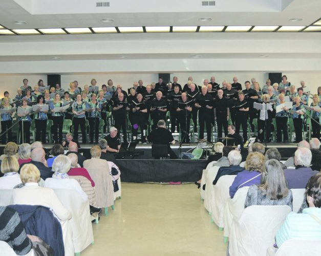 Children's charity concert success