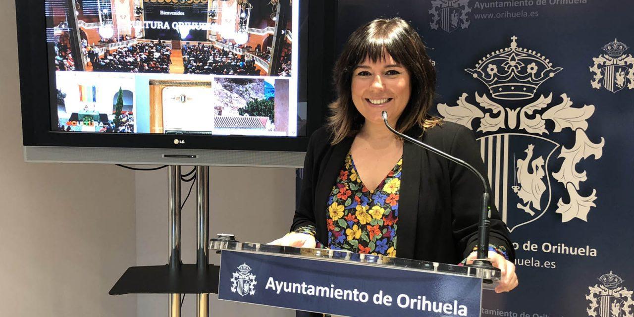 New culture website for Orihuela
