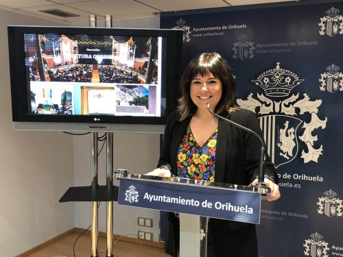 New culture website for Orihuela