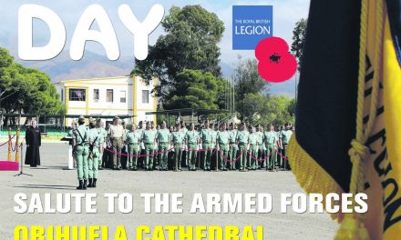 Celebrating Armed Forces Day in Orihuela Cathedral