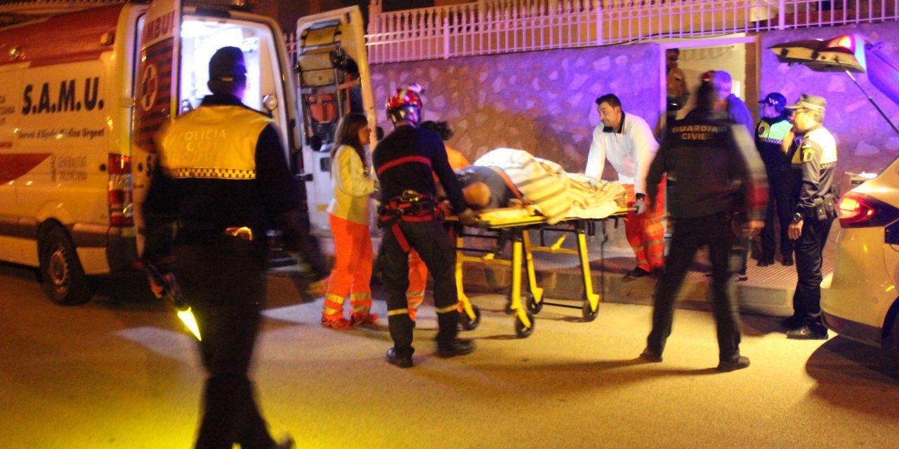 British men seriously injured in stabbing