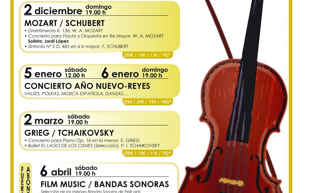 Symphony orchestra programme 2018-2019