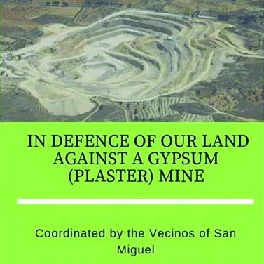 Outcry against giant plaster mine in San Miguel
