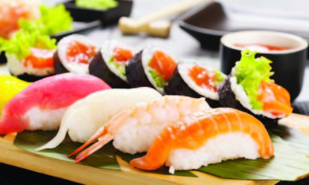 Good news for sushi lovers