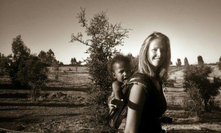 Barefoot charity walk