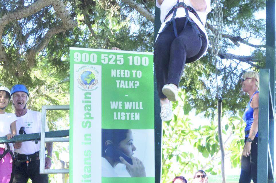 Raising money for suicide awareness