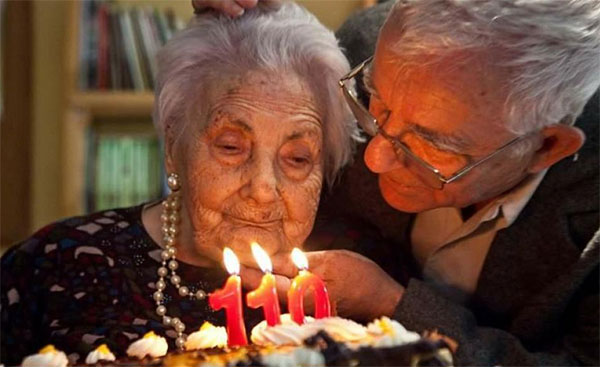 Spanish woman now third-oldest in World