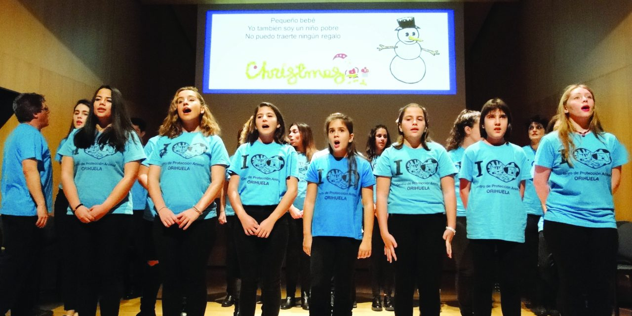 Christmas concert for the animals