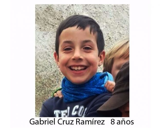 Hundreds search for missing boy