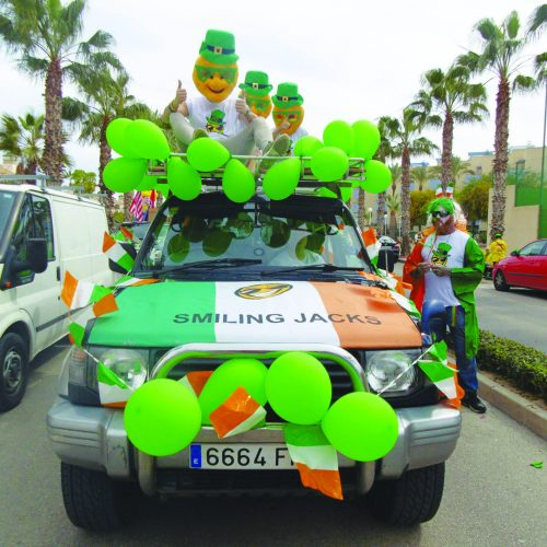 Saint Patrick's Day on the Costa Blanca