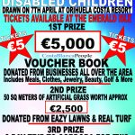 Amazing prize raffle for charity