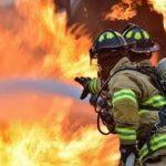 Fire-fighters battle 'bazaar' blaze