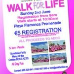 Tenth anniversary Walk for Life
