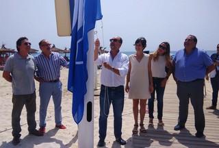 Flying the flag on Orihuela Costa