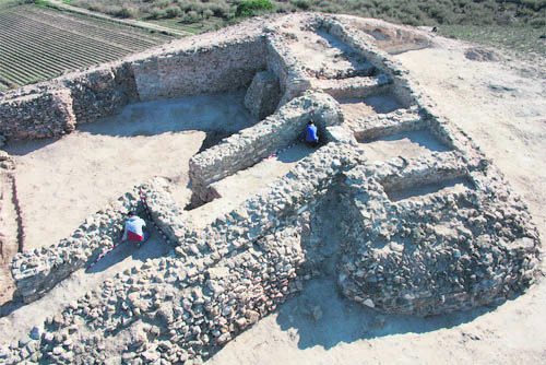 Two arrests at archaeological site