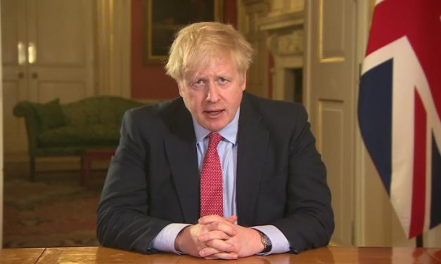 Boris Johnson has Covid-19