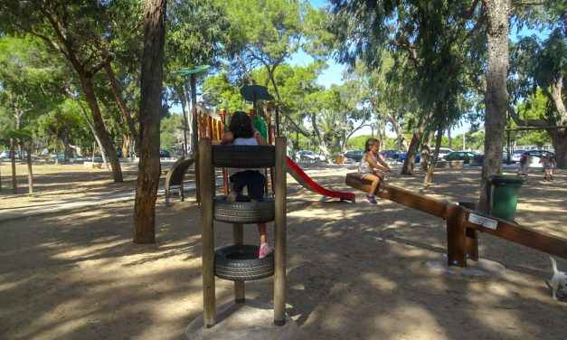 TORREVIEJA OPENS ALL ITS PARKS AND CHILDREN'S PLAYGROUND ON FRIDAY